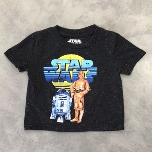 STAR WARS R2-D2 And C-3PO Short Sleeve Tee